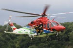 フクシマ119さんが、那須塩原市 那珂川河畔公園で撮影した栃木県消防防災航空隊 AW139の航空フォト(写真)