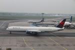 matsuさんが、フランクフルト国際空港で撮影したデルタ航空 767-432/ERの航空フォト(飛行機 写真・画像)