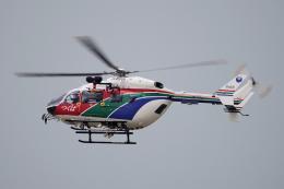 yabyanさんが、中部国際空港で撮影した茨城県防災航空隊 BK117C-2の航空フォト(飛行機 写真・画像)