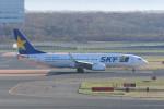 kuro2059さんが、新千歳空港で撮影したスカイマーク 737-82Yの航空フォト(写真)