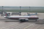 matsuさんが、フランクフルト国際空港で撮影したアメリカン航空 767-323/ERの航空フォト(飛行機 写真・画像)