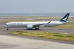 rjジジィさんが、中部国際空港で撮影したキャセイパシフィック航空 A350-1041の航空フォト(写真)
