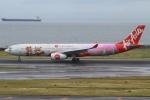 rjジジィさんが、中部国際空港で撮影したタイ・エアアジア・エックス A330-343Xの航空フォト(写真)