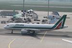 matsuさんが、フランクフルト国際空港で撮影したアリタリア航空 A320-216の航空フォト(飛行機 写真・画像)