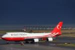 契丹さんが、中部国際空港で撮影したトルコ政府 747-8ZV(BBJ)の航空フォト(写真)