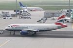 matsuさんが、フランクフルト国際空港で撮影したブリティッシュ・エアウェイズ A319-131の航空フォト(写真)