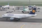 matsuさんが、フランクフルト国際空港で撮影したルフトハンザドイツ航空 A319-114の航空フォト(飛行機 写真・画像)