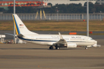 banshee02さんが、羽田空港で撮影したマレーシア空軍 737-7H6 BBJの航空フォト(写真)