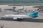 matsuさんが、フランクフルト国際空港で撮影したルクスエア 737-8K5の航空フォト(飛行機 写真・画像)