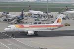 matsuさんが、フランクフルト国際空港で撮影したイベリア航空 A320-214の航空フォト(写真)