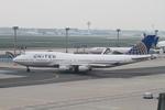 matsuさんが、フランクフルト国際空港で撮影したユナイテッド航空 747-422の航空フォト(写真)