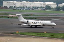 T.Sazenさんが、成田国際空港で撮影したプライベートエア G650 (G-VI)の航空フォト(写真)