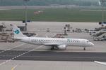 matsuさんが、フランクフルト国際空港で撮影したアウグスブルグ・エアウェイズ ERJ-190-100 LR (ERJ-190LR)の航空フォト(写真)