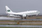 kinsanさんが、関西国際空港で撮影したサウジアラビア王室空軍 737-7DP BBJの航空フォト(写真)