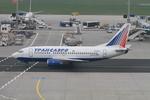 matsuさんが、フランクフルト国際空港で撮影したトランスアエロ航空 737-524の航空フォト(写真)