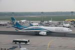 matsuさんが、フランクフルト国際空港で撮影したオマーン航空 A330-343Xの航空フォト(写真)