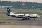 T.Sazenさんが、成田国際空港で撮影したオーロラ A319-112の航空フォト(飛行機 写真・画像)