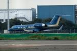 スポット110さんが、羽田空港で撮影したプライベートエア G-IVの航空フォト(写真)