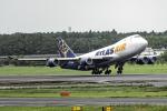 Cozy Gotoさんが、成田国際空港で撮影したアトラス航空 747-47UF/SCDの航空フォト(写真)