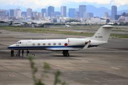 アイトムさんが、伊丹空港で撮影した航空自衛隊 U-4 Gulfstream IV (G-IV-MPA)の航空フォト(飛行機 写真・画像)