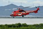 Gambardierさんが、岡南飛行場で撮影した東京消防庁航空隊 EC225LP Super Puma Mk2+の航空フォト(写真)