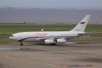 けいとパパさんが、羽田空港で撮影したロシア航空 Il-96-300の航空フォト(写真)