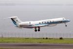 なごやんさんが、羽田空港で撮影した海上保安庁 G-V Gulfstream Vの航空フォト(写真)