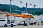 tutomuさんが、岡山空港で撮影したオールラウンドヘリコプター AS350B Ecureuilの航空フォト(写真)