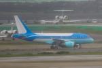 たーぼーさんが、羽田空港で撮影したヤーリアン・ビジネスジェット A318-112 CJ Eliteの航空フォト(写真)