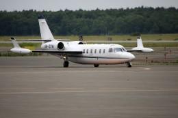 北の熊さんが、新千歳空港で撮影したOBERON AVIATION SERVICES PTY LTD 1124A Westwind IIの航空フォト(飛行機 写真・画像)