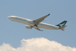 OMAさんが、香港国際空港で撮影したキャセイパシフィック航空 A330-342Xの航空フォト(飛行機 写真・画像)
