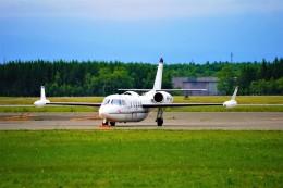 hidetsuguさんが、新千歳空港で撮影したOBERON AVIATION SERVICES PTY LTD 1124A Westwind IIの航空フォト(飛行機 写真・画像)