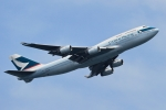 kaeru6006さんが、羽田空港で撮影したキャセイパシフィック航空 747-467の航空フォト(写真)
