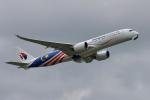 saoya_saodakeさんが、成田国際空港で撮影したマレーシア航空 A350-941XWBの航空フォト(写真)