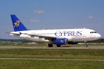 Hariboさんが、チューリッヒ空港で撮影したキプロス・エアウェイズ (〜2015) A319-132の航空フォト(飛行機 写真・画像)