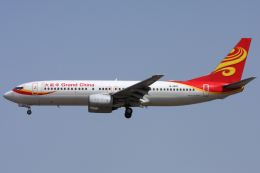Hariboさんが、北京首都国際空港で撮影した大新華航空 737-86Nの航空フォト(飛行機 写真・画像)