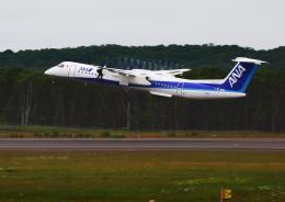 タミーさんが、釧路空港で撮影したANAウイングス DHC-8-402Q Dash 8の航空フォト(写真)