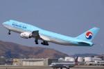 masa707さんが、サンフランシスコ国際空港で撮影した大韓航空 747-8B5の航空フォト(写真)