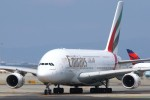 masa707さんが、サンフランシスコ国際空港で撮影したエミレーツ航空 A380-861の航空フォト(写真)