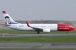 Hariboさんが、コペンハーゲン国際空港で撮影したノルウェー・エアシャトル 737-86Nの航空フォト(写真)