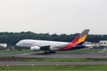 T.Sazenさんが、成田国際空港で撮影したアシアナ航空 A380-841の航空フォト(写真)