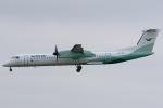 Hariboさんが、コペンハーゲン国際空港で撮影したヴィデロー航空 DHC-8-402Q Dash 8の航空フォト(飛行機 写真・画像)