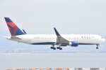 FLYING  HONU好きさんが、関西国際空港で撮影したデルタ航空 767-332/ERの航空フォト(写真)