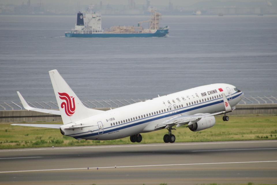 yabyanさんの中国国際航空 Boeing 737-800 (B-1958) 航空フォト