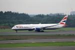T.Sazenさんが、成田国際空港で撮影したブリティッシュ・エアウェイズ 787-9の航空フォト(写真)