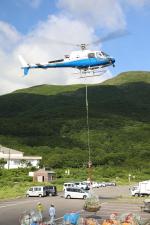 くろネコさんが、庄内空港で撮影した東邦航空 AS350B3 Ecureuilの航空フォト(写真)