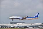 mike48さんが、新千歳空港で撮影した全日空 A321-211の航空フォト(写真)