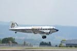 ちどりんさんが、熊本空港で撮影したスーパーコンステレーション飛行協会 DC-3Aの航空フォト(飛行機 写真・画像)