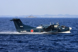 Hiro-hiroさんが、相模湾で撮影した海上自衛隊 US-2の航空フォト(飛行機 写真・画像)