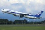 sky-spotterさんが、鹿児島空港で撮影した全日空 767-381/ERの航空フォト(写真)